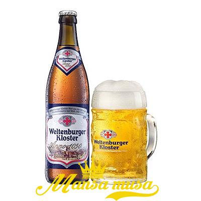 Bia Weltenburger Kloster Anno 1050 Đức 5,1% chai 330ml