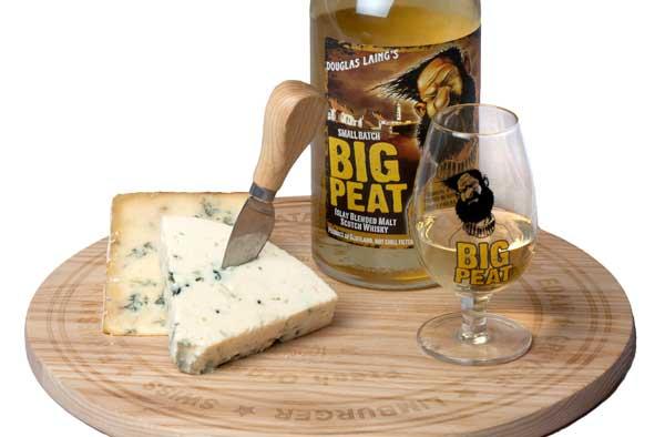 món ăn kết hợp với rượu Big Peat