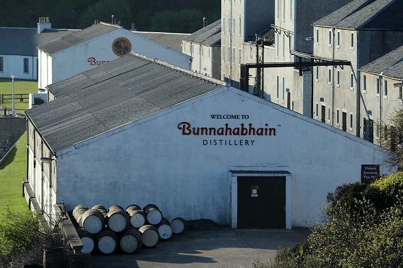 nhà máy chưng cất Bunnahabhain