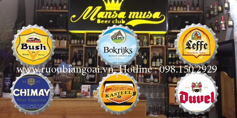 Khám phá văn hóa bia Bỉ