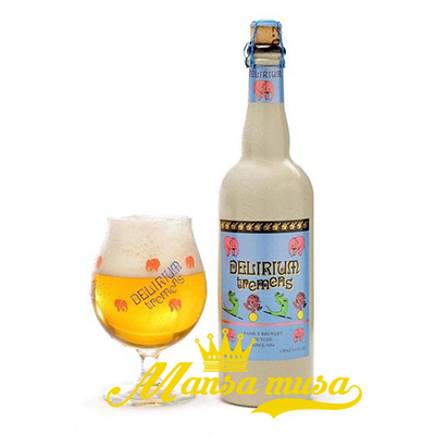Bia Bỉ Delirium Tremens 8,5% (chai 750ml)