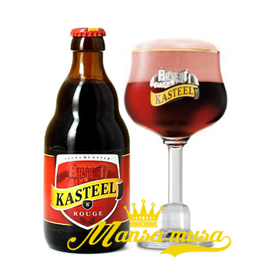 Bia Kasteel Rouge Bỉ 8% chai 330ml