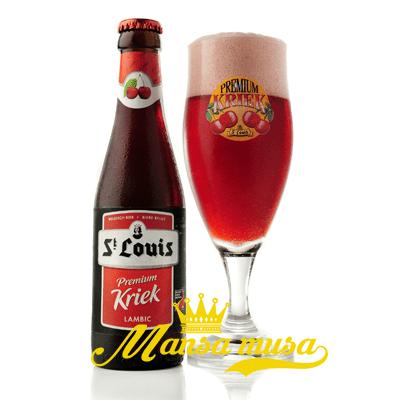 Bia Premium Kriek Bỉ 3,2% chai 250ml