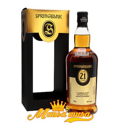 Rượu Springbank 21