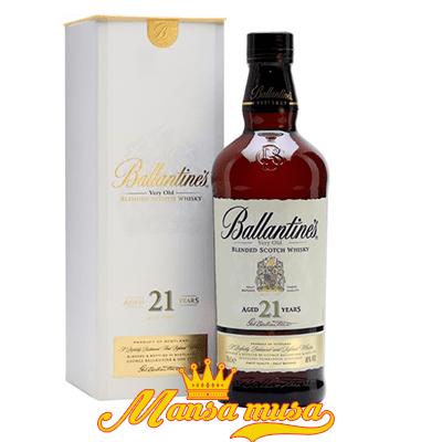 Rượu Ballantines 21 tuổi