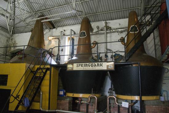 nhà máy sản xuất rượu Springbank