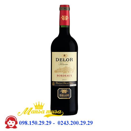 Vang Delor Bordeaux
