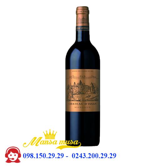 Rượu Vang Pháp Chateau d'Issan Margaux