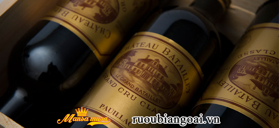 Vang Chateau Batailley 2015