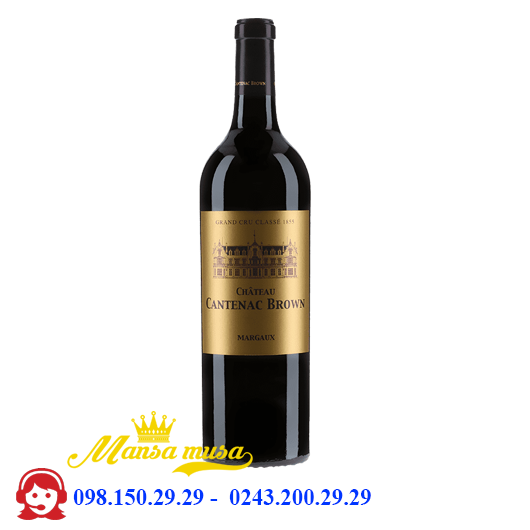 Vang Chateau Cantenac Brown 2014