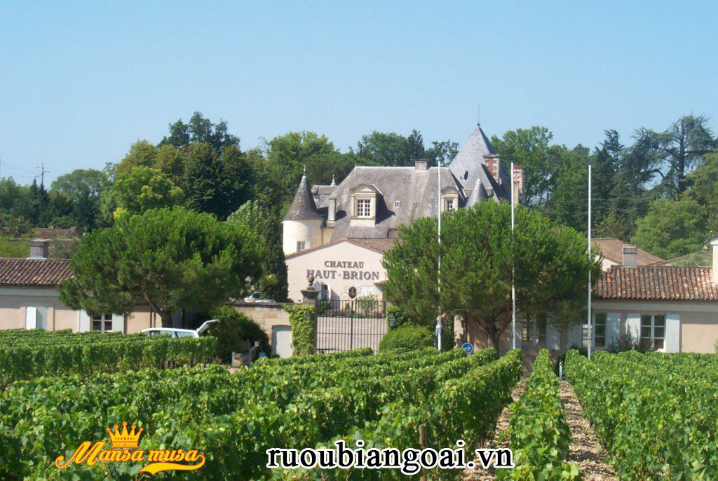 Vang Chateau Haut Brion 2011