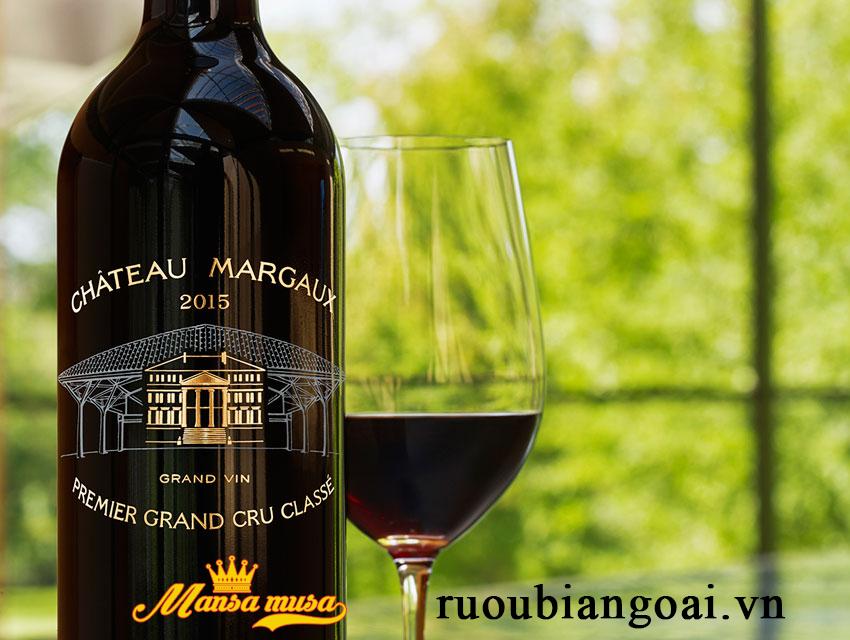 Vang Chateau Margaux 2015