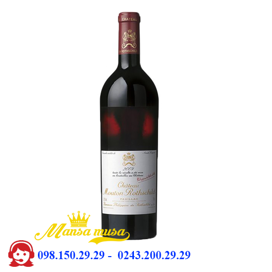 Vang  Chateau Mouton Rothschild 2011