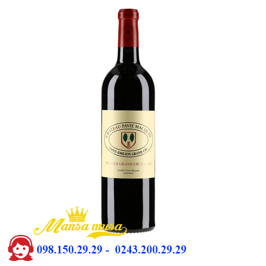 Vang Chateau Pavie Macquin