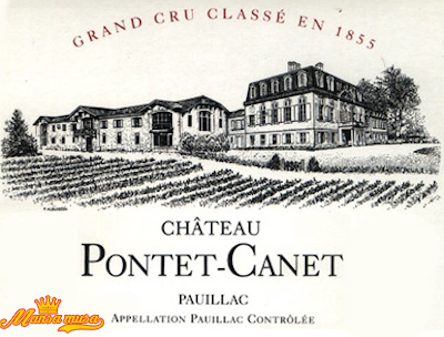 Vang Chateau Pontet Canet 2014