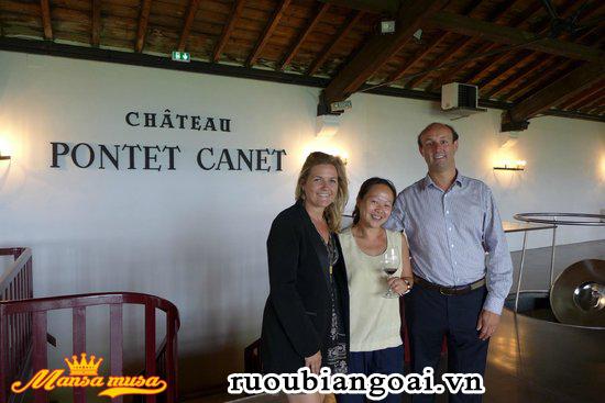 Vang Chateau Pontet Canet 2014