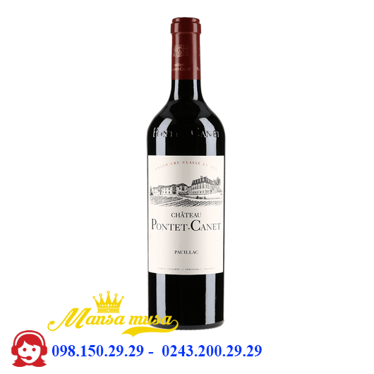 Vang Chateau Pontet Canet 2011