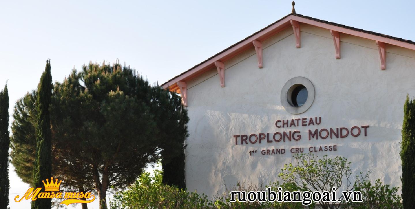Vang Chateau Troplong Mondot 2014