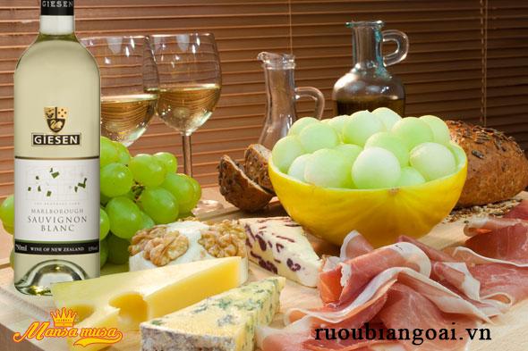 Vang Giesen Sauvignon Blanc 2015