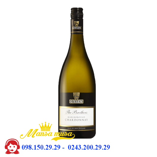Vang Giesen The Brothers Chardonnay 2016