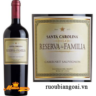 Vang Reserva De Familia Cabernet Sauvignon 2015