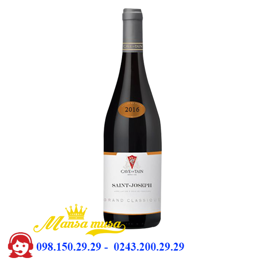 Vang Saint-Joseph Grand Classique red 2016