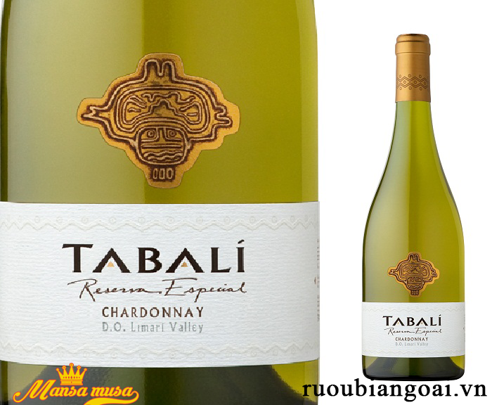 Vang Tabali Reserva Especial Chardonnay