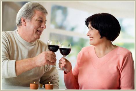rượu vang đỏ phòng chống lão hóa