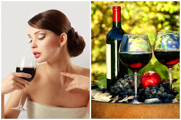 rượu vang đỏ tốt cho giấc ngủ