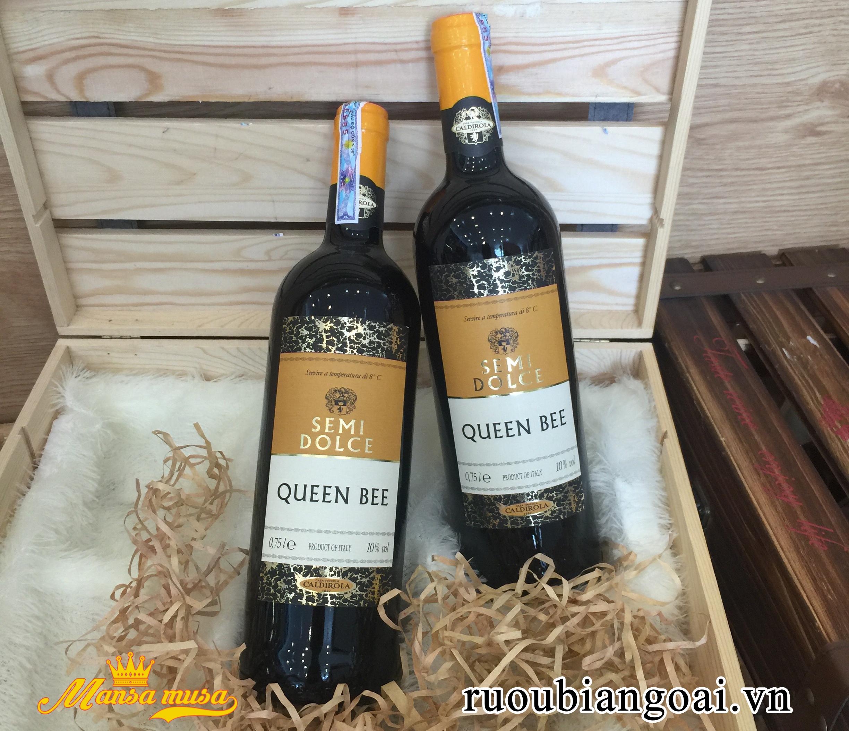Rượu Vang Ngọt Queen Bee - Vang Ý