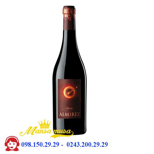 Rượu Vang Teso La Monja Almirez, Toro 2012