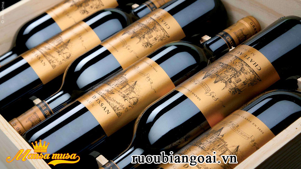 Vang Chateau d'Issan Margaux