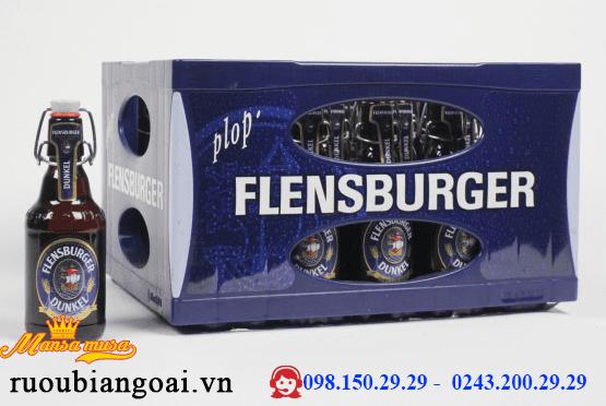 Bia FLENSBURGER DUNKEL 4,8 % (chai 330 ml)