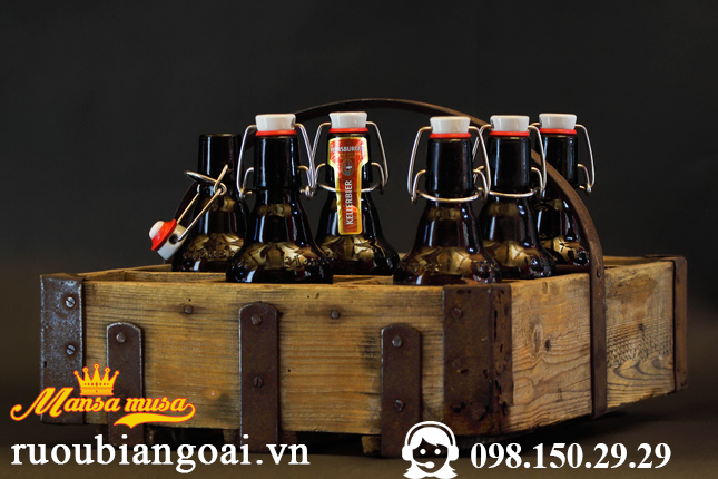 Bia FLENSBURGER GOLD 4,8 % (chai 330 ml)