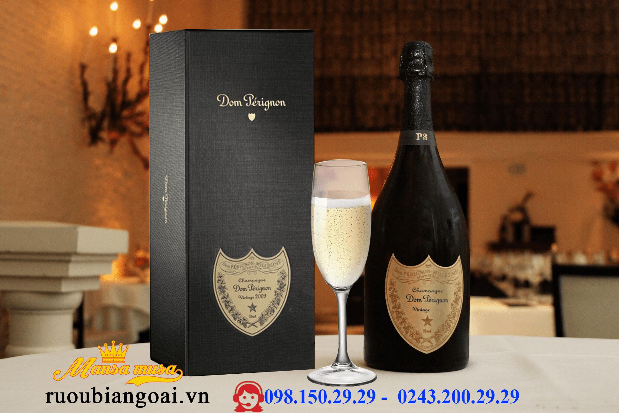 Rượu Champagne Dom Pérignon 2009