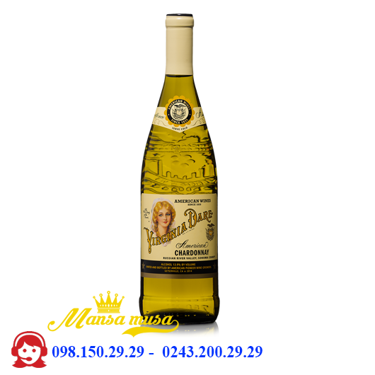 Vang Virginia Dare Chardonnay 2015