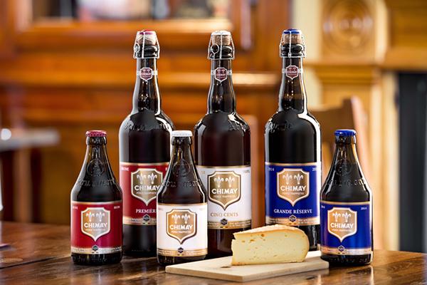 Các loại bia chimay Bỉ