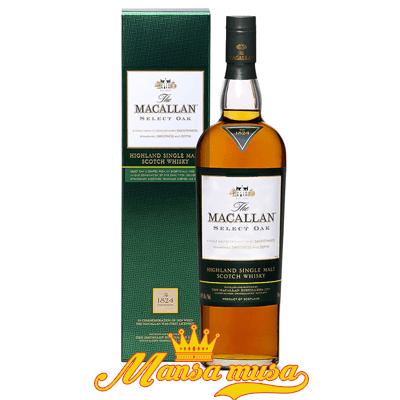 Rượu Macallan 1824 Select Oak – Xanh