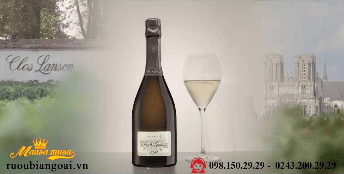 Rượu Champagne Clos Lanson 2006