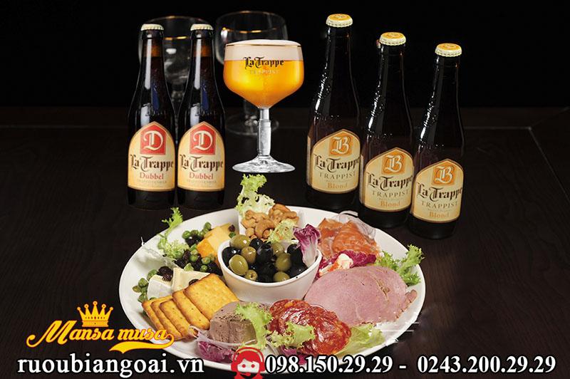 Cách Uống Bia La Trappe