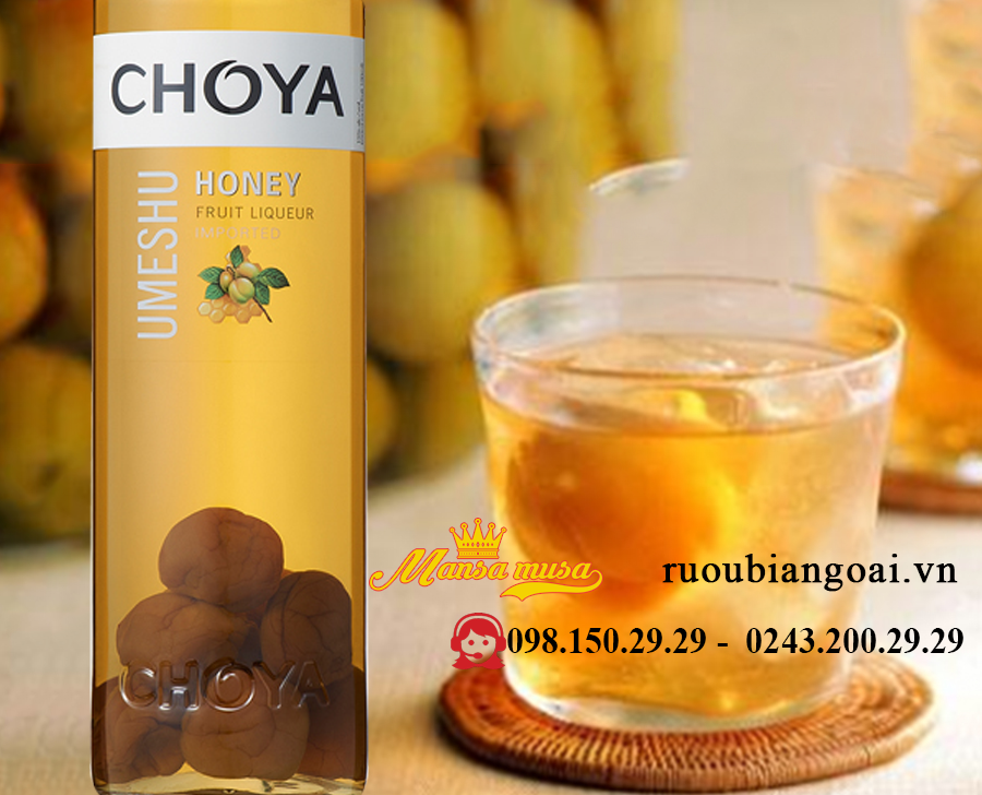 Ruou Choya Honey Umeshu 750 ml