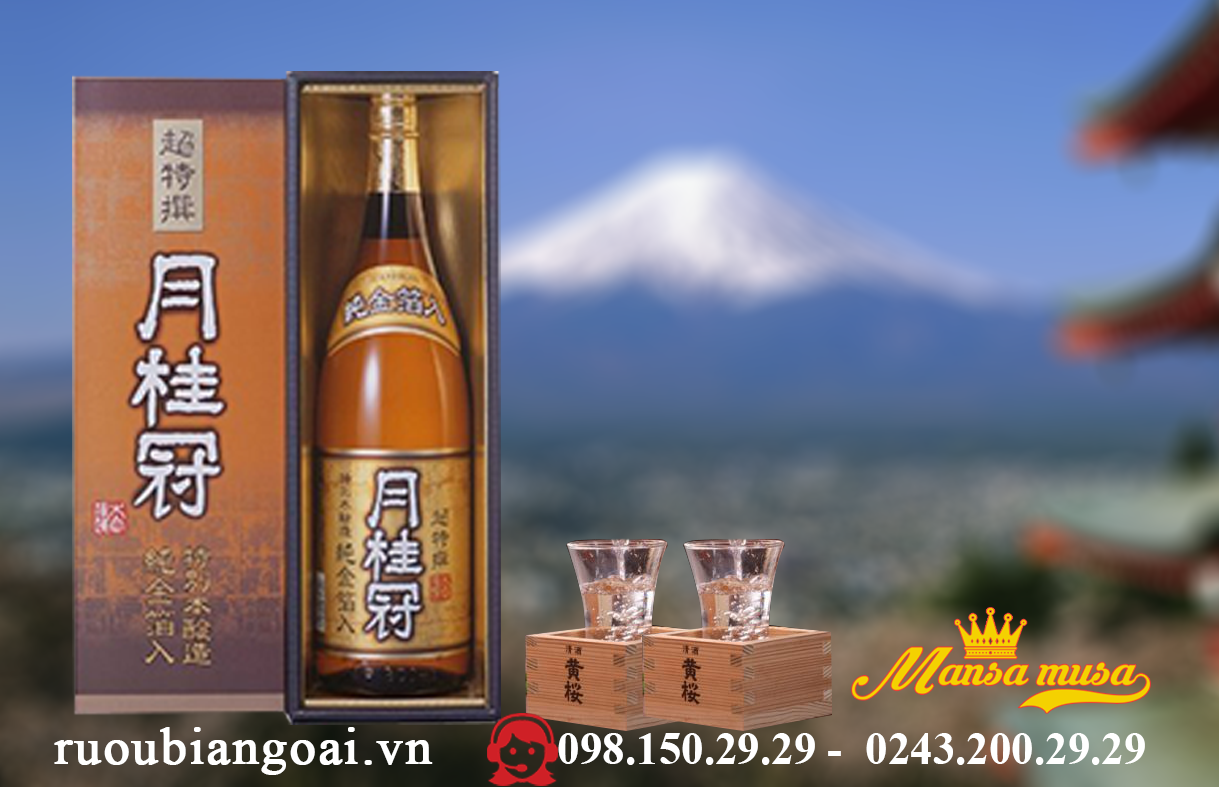 Ruou Sake Kekkeikan Totubetsu 1800 ml