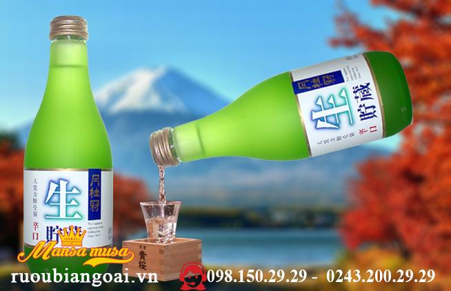 Ruou Sake Namachozo 300 ml