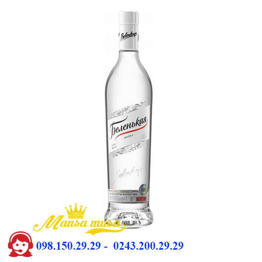 Rượu VodKa Belenkaya 500 ml