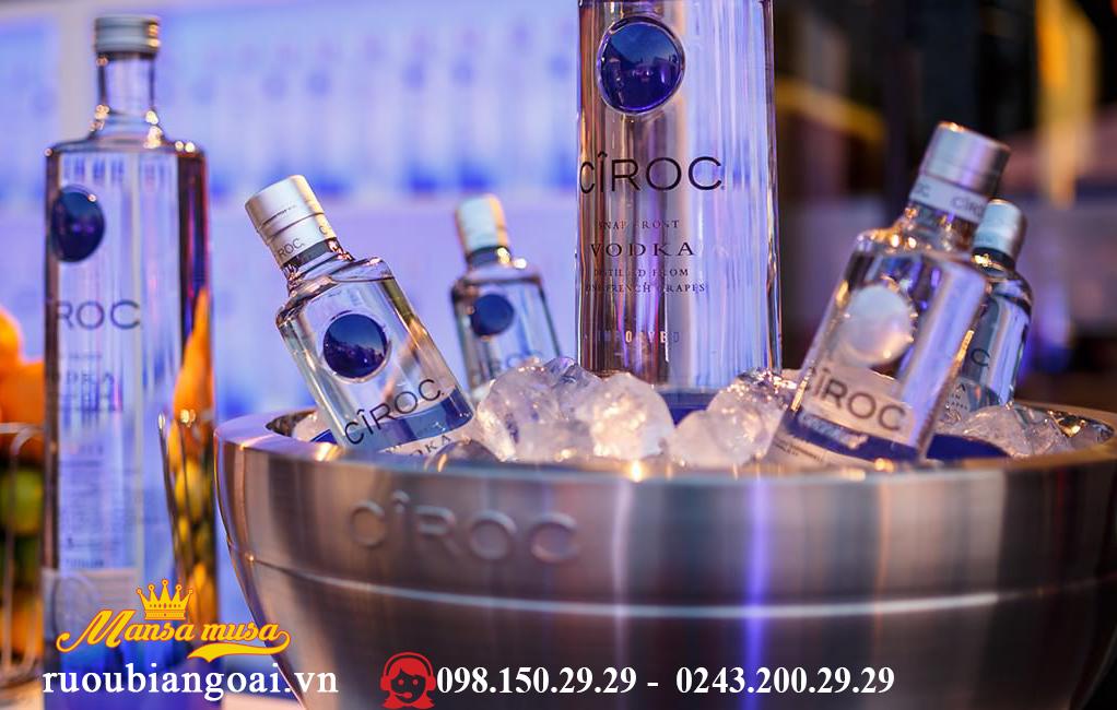 Ruou VodKa Ciroc 1,75 lit