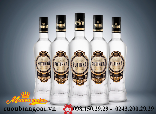 Ruou VodKa Putinka 500 ml