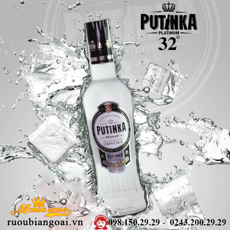 Ruou VodKa Putinka 700 ml