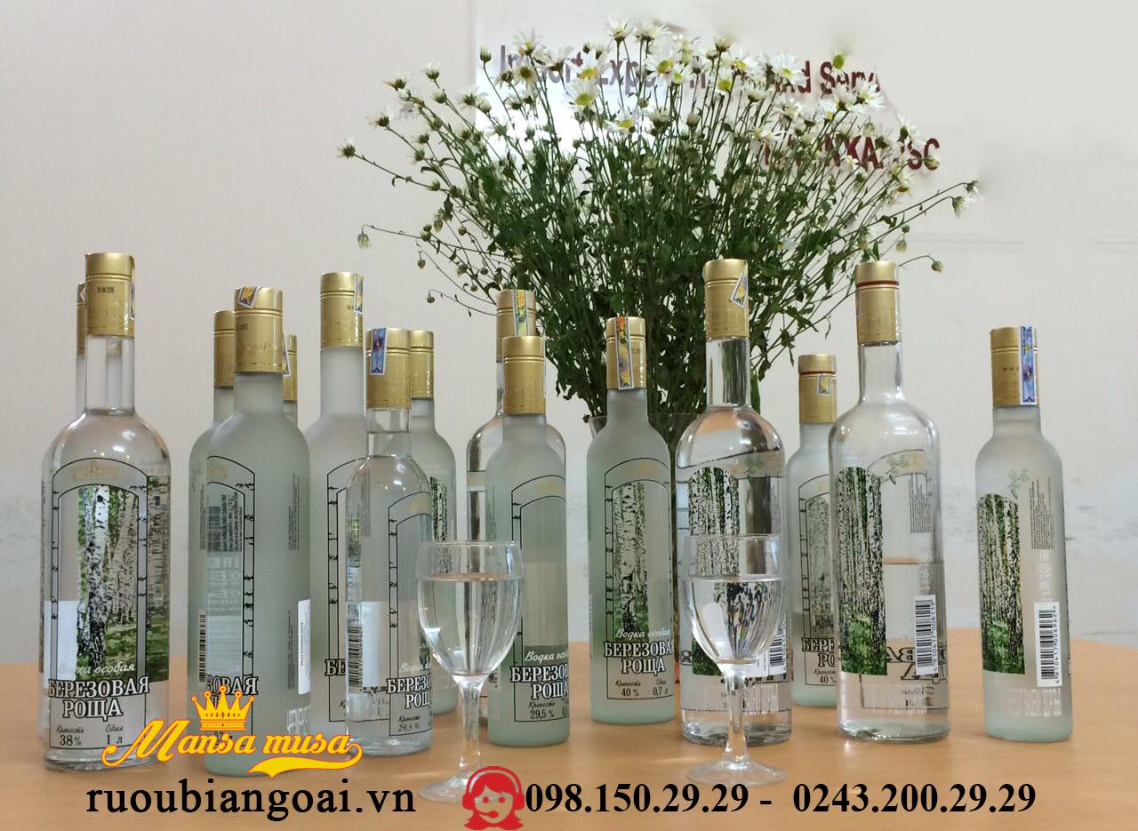 Ruou Vodka Bach Duong 1000 ml
