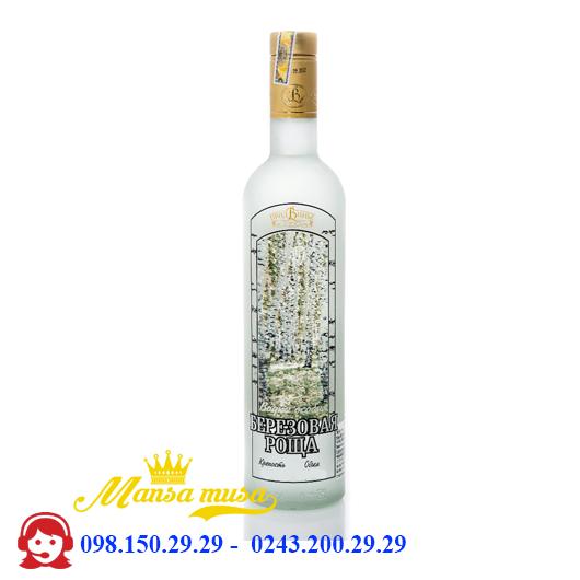 Rượu Vodka Bạch Dương 1000 ml