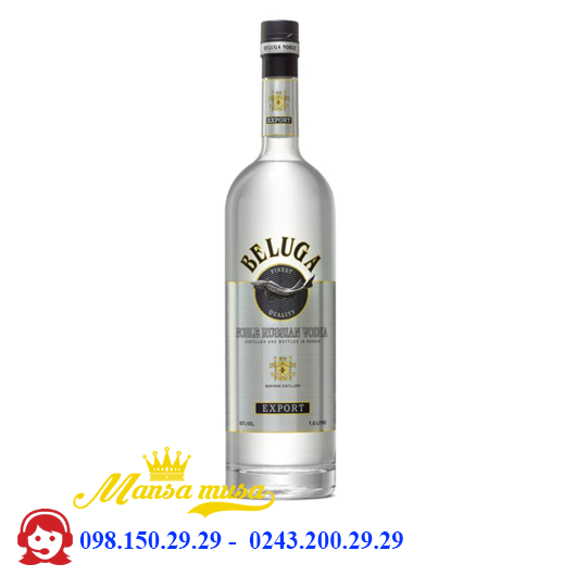 Ruou Vodka Beluga 1000 ml